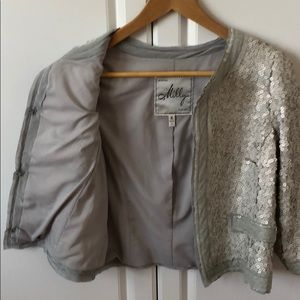 Milly Sequin Jacket